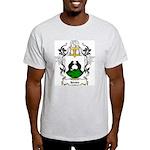 Bevers Coat of Arms Ash Grey T-Shirt