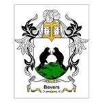 Bevers Coat of Arms Small Poster