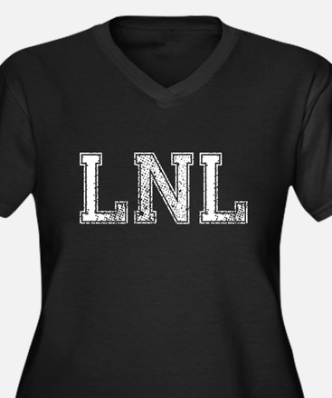 LNL, Vintage, Women's Plus Size V-Neck Dark T-Shir