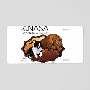 CNASA Nationals 2017 Aluminum License Plate