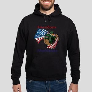 Powerful Eagle Hoodie (dark)