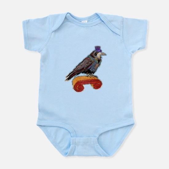 Well Dressed Raven Infant Bodysuit