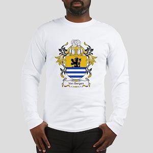Van Bergen Coat of Arms Long Sleeve T-Shirt