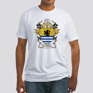 Van Bergen Coat of Arms Fitted T-Shirt