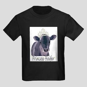 Cow Art Heifer Princess T-Shirt