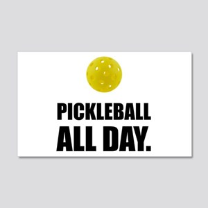 Pickleball All Day Wall Decal