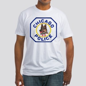 Chicago PD K9 Fitted T-Shirt
