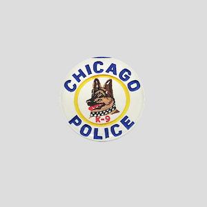 Chicago PD K9 Mini Button