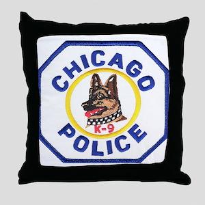 Chicago PD K9 Throw Pillow