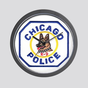 Chicago PD K9 Wall Clock