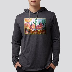 Desert! Southwest art! Mens Hooded Shirt
