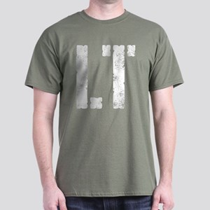 LT military rank distressed Dark T-Shirt