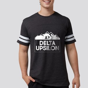 Delta Upsilon Mountains Mens Football Shirt