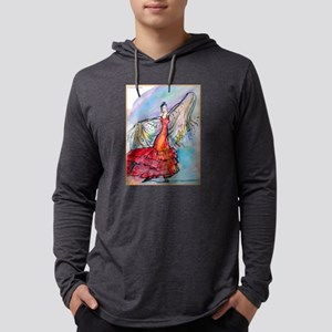 Flamenco dancer, art! Mens Hooded Shirt