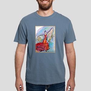 Flamenco dancer, art! Mens Comfort Colors Shirt