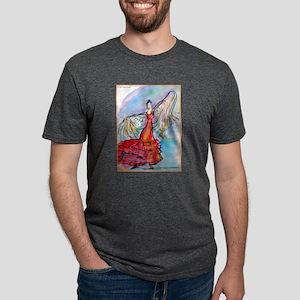 Flamenco dancer, art! Mens Tri-blend T-Shirt