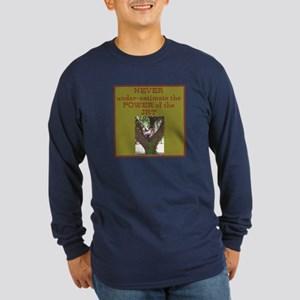 Jack Russel Terrier Picture Long Sleeve Dark T-Shi