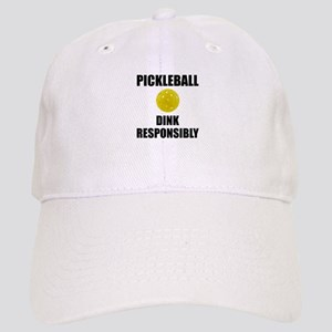 Pickleball Dink Responsibly Baseball Cap