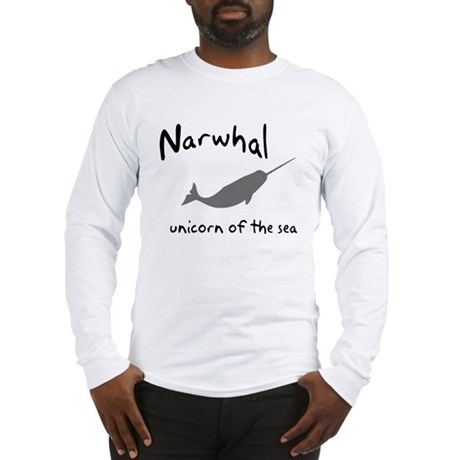 Narwhal Unicorn of the Sea Long Sleeve T-Shirt