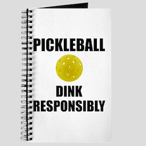 Pickleball Dink Responsibly Journal