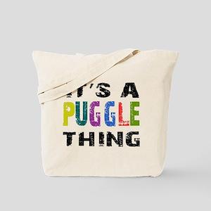 Puggle THING Tote Bag