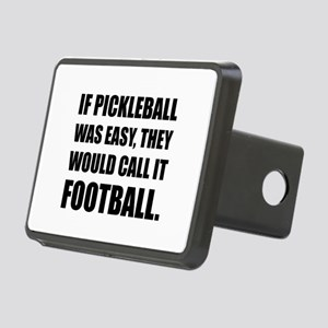 Pickleball Easy Call Football Hitch Cover