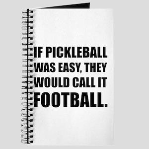 Pickleball Easy Call Football Journal