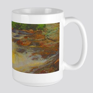 Picturesque Whitewater Large Mug