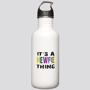 Newfie THING Stainless Water Bottle 1.0L