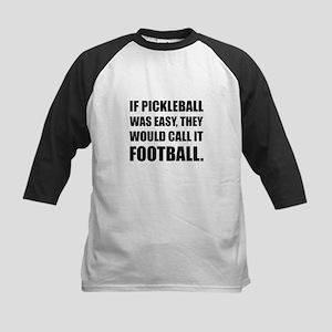 Pickleball Easy Call Football Baseball Jersey
