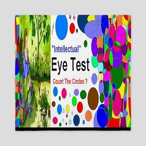 Intellectual Eye Test Queen Duvet