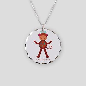 RN Nurse Jewelry Necklace Circle Charm