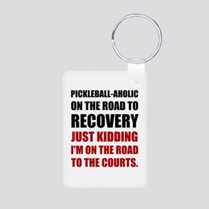 Pickleball Road To Recovery Keychains