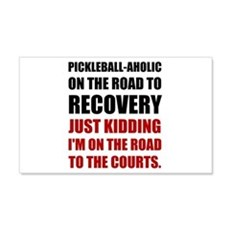 Pickleball Road To Recovery Wall Decal