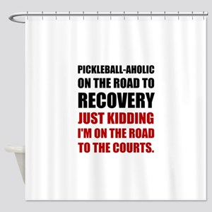 Pickleball Road To Recovery Shower Curtain