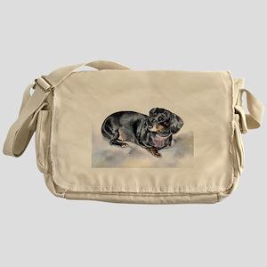 Annie the Dachshund Messenger Bag