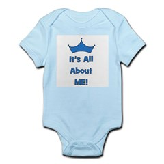 It's All About Me! Blue Infant Creeper