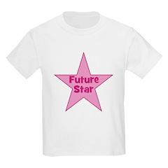 Future Star - Pink Kids T-Shirt
