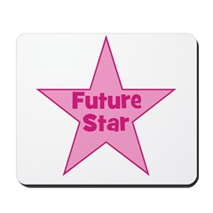 Future Star - Pink Mousepad