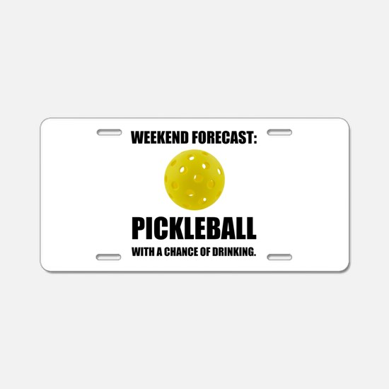Weekend Forecast Pickleball Drinking Aluminum Lice