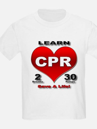 """Save a Life!"" Kids T-Shirt"
