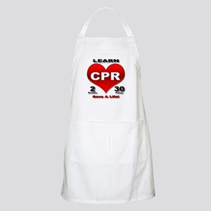 """Save a Life!"" BBQ Apron"