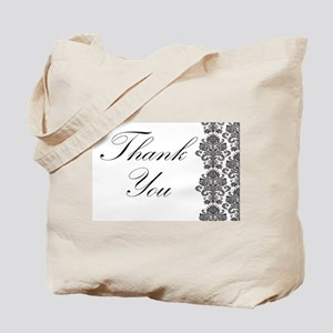 BW Thank You Card Tote Bag