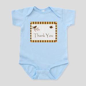 Birds Thank You Infant Bodysuit