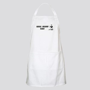 Lunch Ladies Rock BBQ Apron