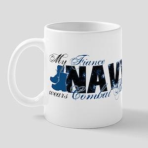 Fiance Combat Boots - NAVY Mug
