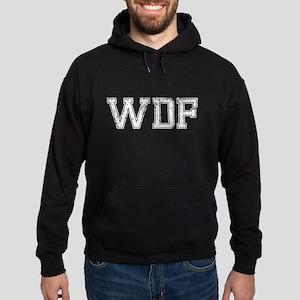 WDF, Vintage, Hoodie (dark)