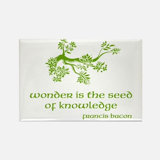 Seed of Knowledge Rectangle Magnet