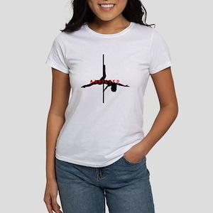 Addicted Black/Red Women's T-Shirt