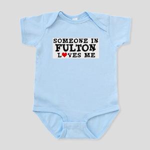 Fulton: Loves Me Infant Creeper